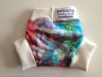 Small Tie Dye Wool Interlock Soaker