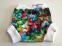 "Small ""Paint Splatter"" Wool Interlock Soaker"