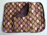 Brown Leaf Double flannel Unpaper towels or Napkins