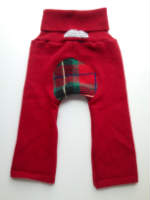 Recycled Woolly Red Holiday Cashmere Jecaloones - Mini