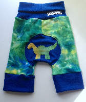 Dinosaur Wool Interlock Capris Jecaloones - Size 1 - 1-3 years