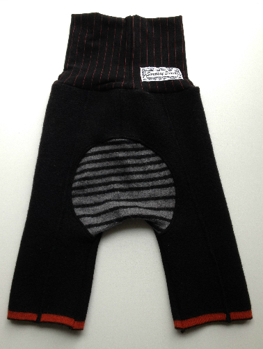 Pirate Capris Wool Jecaloones - Size 1 - 6 months to 3 years