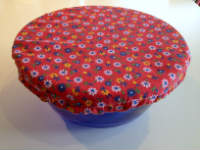 Medium Floral Reusable Bowl Cover