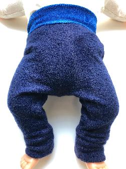 0-3 month - Upcycled Merino Newborn Longies