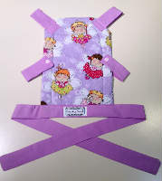 Fairy Toy Front Carrier for your Little One to Carry their Toy Baby
