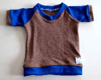 Wool Interlock T-Shirt - Size 3-12 months