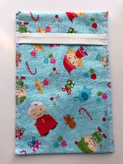Fold Over Small Winter Elf Snack Pack