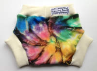 Medium-Large Tie Dye Wool Interlock Soaker