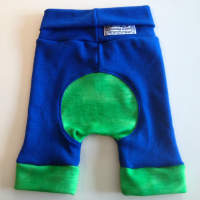 Woolly Blue and Green Jecaloones Capris
