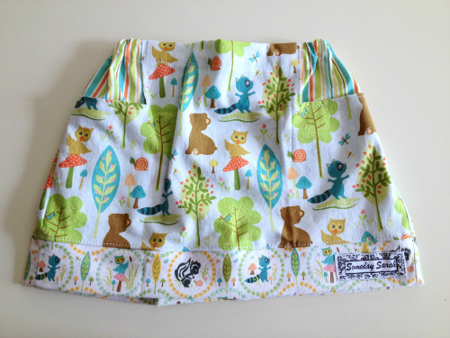 Woodland Friends Size 2T/24 Months Skirt