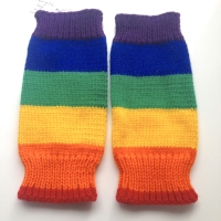 6 months up to 7 years - Acrylic Leg Warmers - S