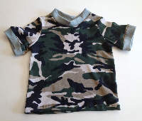 Camo T-Shirt - 4years