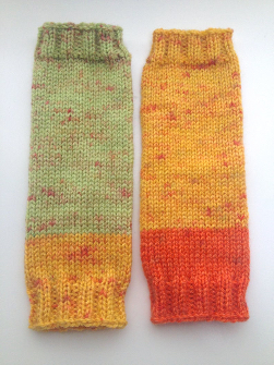 Children's Acrylic Wool Blend Leg warmers