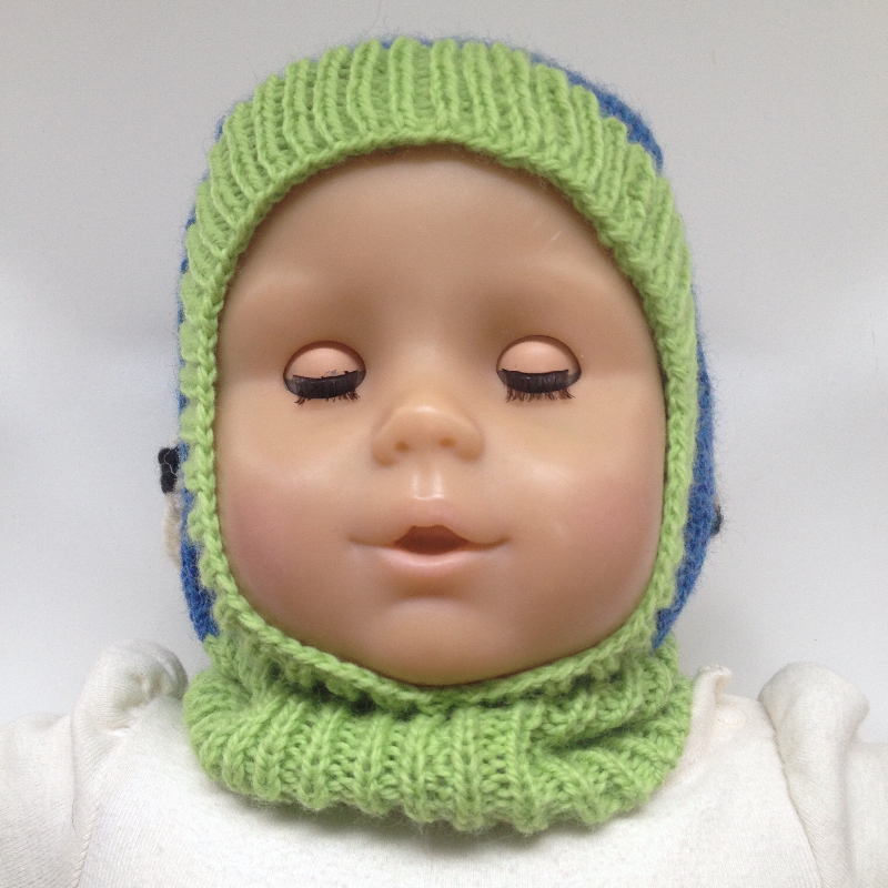 0-6 months - Sheep Wool Baby Balaclava