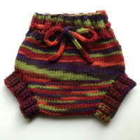 Harvest Hand Knit Medium Wool Soaker, Diaper Cover and Photography Prop