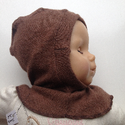 6-24 months - Up-cycled Cashmere Balaclava