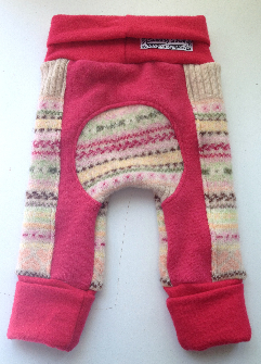 Recycled Woolly Pink Jecaloones - Mini