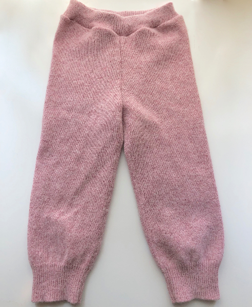 2-4 Years  - Up-cyled Pink and Orange Pixie Hoodie and Matching Pants
