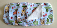 Seconds - Woodlands Flannel and Bamboo Terry Loop Cloth Wipes