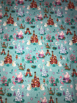1yd Cut Nutcracker Cotton Lycra