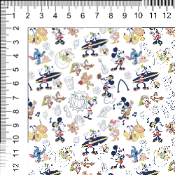 1yd Cut Sketchy Aulani 2.0 Cotton Lycra Retail