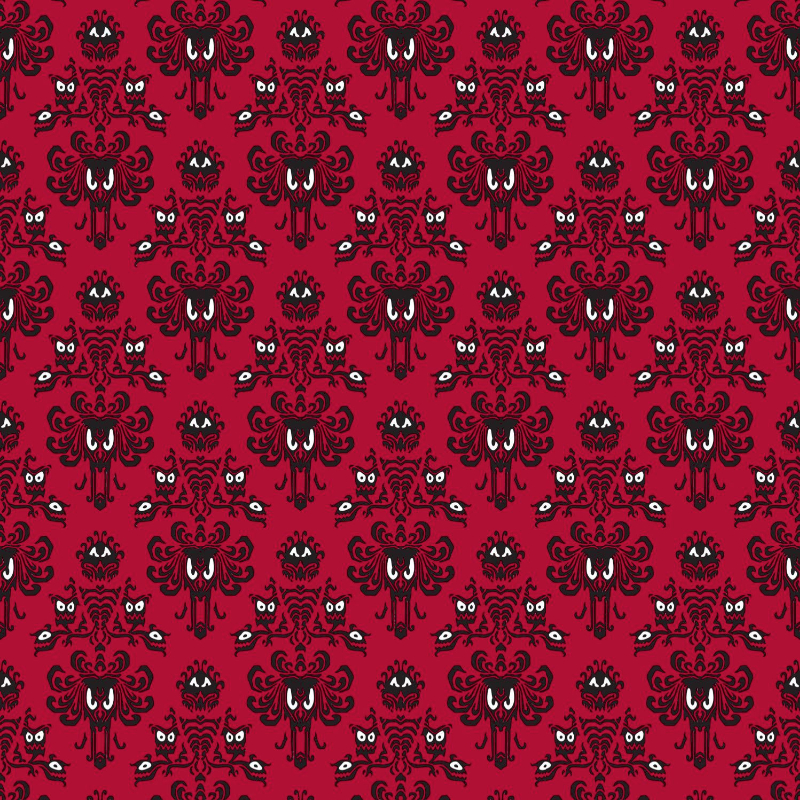 HM Wallpaper Cherry Small Scale Woven