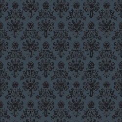 1yd Cut HM Wallpaper Gray Small Scale Swim
