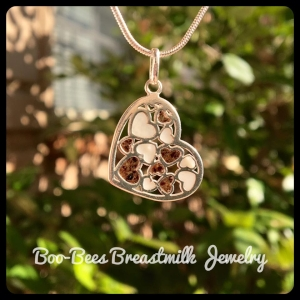 Mommy's Cherished Hearts Necklace