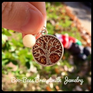 Tree of life pendant boo bees online shop for Breastmilk jewelry tree of life