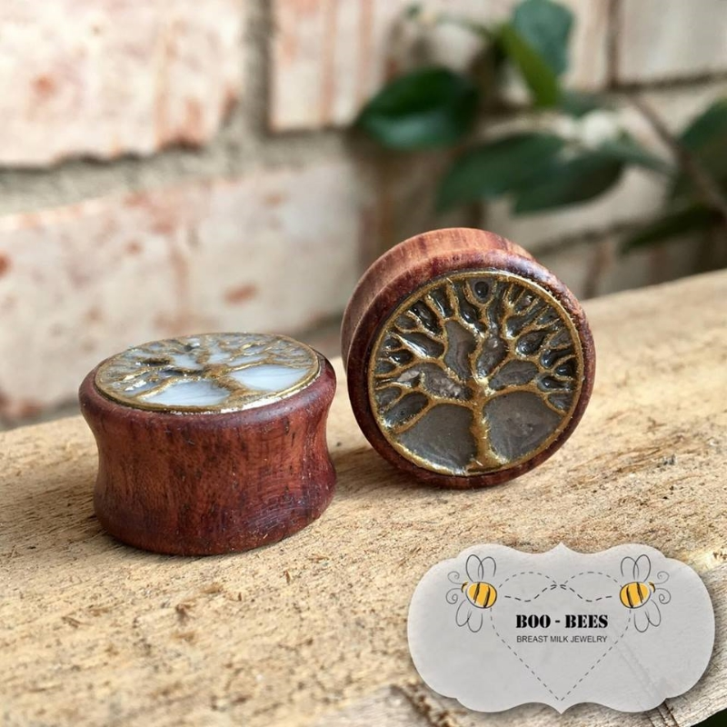 Tree of life ear plug