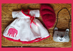 3 Piece set  fits dolls 15,75inch(40cm)