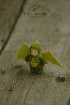 Tiny Dragon baby doll 2 inch