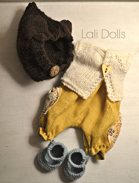 Clothing set for Cupcake doll