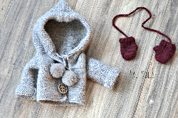Coat and Mittens for Lali Cupcake