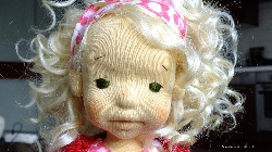 "Kasia, Waldorf inspired doll, height 15,75""(40cm)"