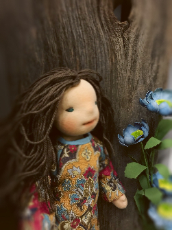 Willow - Natural Fiber Art Doll 31cm/12""