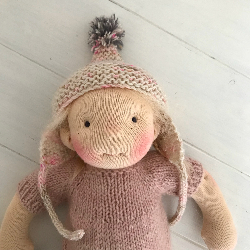 Phoebe - a handmade doll by Luletti