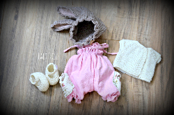 Doll Outfit for Cupcake Doll