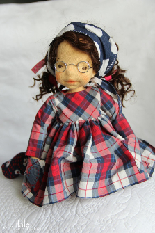Rose by Julilale - 12inch(30cm),Natural Fiber Art Doll