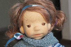 Mela a15,75inch(40cm),Natural Fiber Art Doll by Julilale