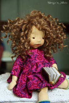 Mango by Julilale - 12inch(30cm),Natural Fiber Art Doll