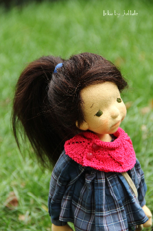 Inka - Waldorf inspired doll 15,75(40cm) made by Julilale