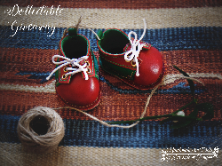 Handmade Leather Shoes by Lavande et Poupees