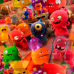 Ugly Dolls  (C/L) - 1 yd cut