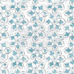 Diva Flowers C/L (1 yd cut)
