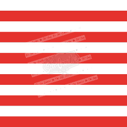 Red & White Stripes C/L (1 yd cut)