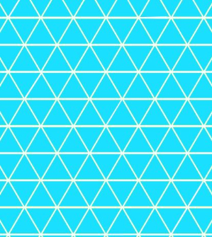 Blue Geometric - Swim (3 yd cut)