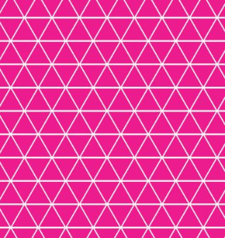 Pink Geometric - Swim (1 yd cut)