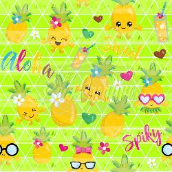 Lime Lemons- CL (1 yd cut)