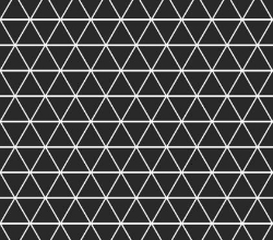 Black Geometric -  Swim (1 yd cut)